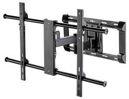 Large Flat Panel Wall Mount offers tilt, articulation capacity.