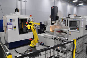 AccuteX EDM Spotlighted in Live Demonstration Machining Cell at IMTS 2014