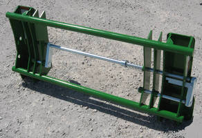 Series 400/500 Loader Adapter accepts Euro/Global attachments.