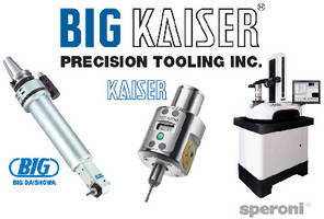 BIG Kaiser Further Expands and Enhances Line-Up at IMTS Booth W-1600