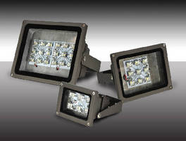LED Flood Lights deliver narrow beam distribution.
