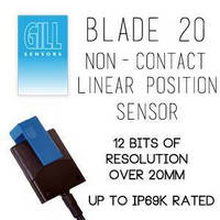 Position Sensor utilizes inductive, non-contact technology.
