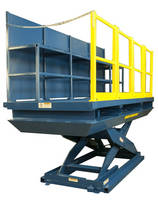 20,000 lb Capacity Lift Table with Sliding Platform