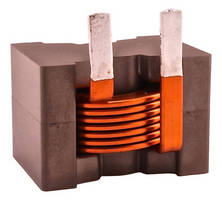 High Current Inductors feature flat wire coil.