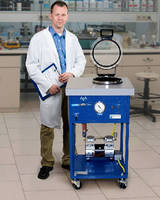 Portable Degas System offers choice of vacuum pumps.
