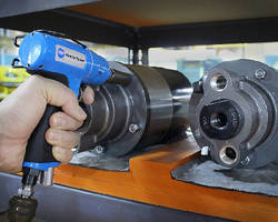 Air Impact Drivers weigh less than 2.2 lb.
