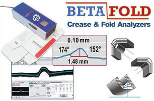 Handheld Analayzer provides QC tool for folding carton industry.