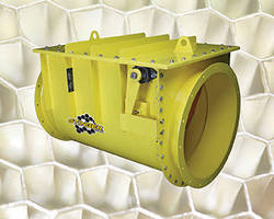 Isolation Valve protects against dust collector explosions.