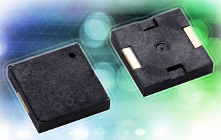 SMD Piezoelectric Sounder suits portable health care devices.