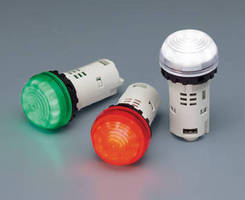 Sunlight Viewable LED Pilot Lights come in 3 voltage options.