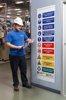 Visual Message Boards enhance safety via interchangeable signs.