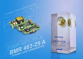Ericsson Power Modules Strikes Gold with Best Power Product Win at Electrons d'Or 2014