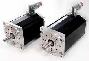 Brushless Rotary DC Motor has compact and modular design.