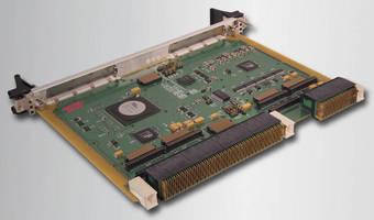 OpenVPX Dual XMC Carrier Card has rugged ,6U design.