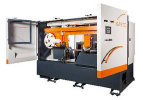 Automated Bandsaws offer cutting capacities from 330-1,060 mm.