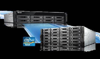 NAS Systems utilize quad-core Intel® Xeon® 3.4 GHz processor.