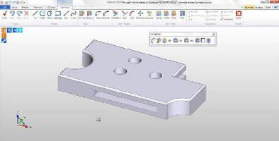 CAD/CAM Software converts 2D design data to 3D model