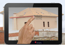 Tablet-Based Scanner accurately measures 3D spaces.