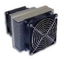 Thermoelectric Air Conditioners cool small enclosures.
