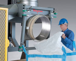 Heavy-Duty Bulk Bag Filler works with difficult materials.