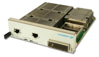 AMC Processor Board supports 100G capabilities.