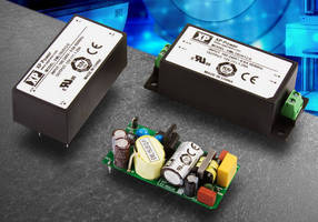 Compact 15 W AC/DC Power Supply targets medical applications.