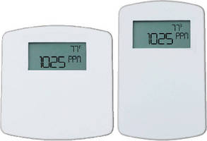 Carbon Dioxide Transmitters combine 3 room sensors.