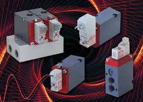Electronic Poppet Valves suit high flow applications.