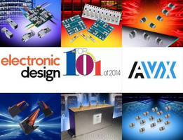 AVX Secures Six Slots on the 2014 Electronic Design Top 101 Components List