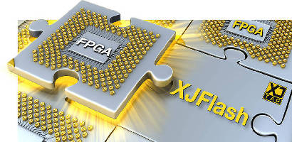 Boundary Scan Software offers integrated XJFlash feature.