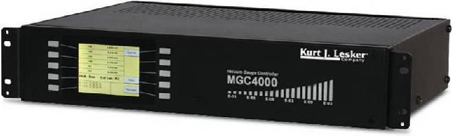Multi-Gauge Controller displays 10 pressure measurements.