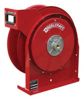 Industrial/Commercial Reels have non-corrosive fluid path option.
