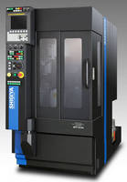 Compact Vertical CNC Grinders feature ~1 m² main body.