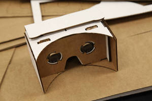 Want to Build Your Own Google Cardboard this Summer?