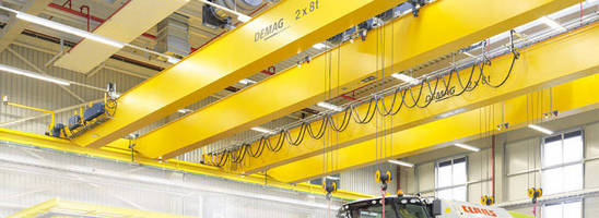 Terex Material Handling Announced an Order for two Demag Double-Girder Overhead Cranes from their Central Ontario Dealer Rogers Material Handling for M CON Pipe and and Products Inc