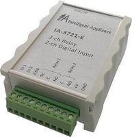 Industrial Relay Controllers feature LAN interface.