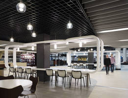 O'Hare International Airport's Terminal 5 Renovates with ROCKFON Ceiling Systems for Modern Look, Easy Maintenance