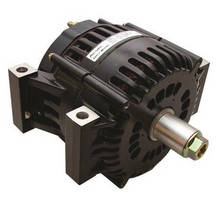 Lightweight Internal Fan Alternators withstand high temperatures.