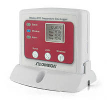 RTD Temperature Data Logger offers wireless communication.