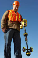 Line Locator features integrated Bluetooth® and GPS.
