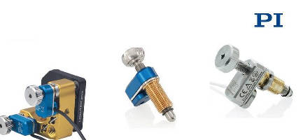 Miniature Screw-Actuators provide 20 nm resolution.