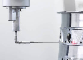 Non-Contact Scanning Probe suits high-accuracy inspections.