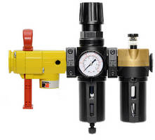 Filter, Regulator, and Lubricator feature modular designs.