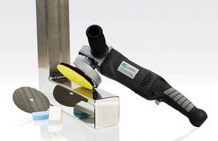 Multifunctional Tool performs blending and finishing tasks.