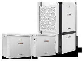 Residential Geothermal Heat Pump is offered as split system.