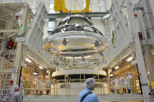 American Crane Completes the First Lift for Orion