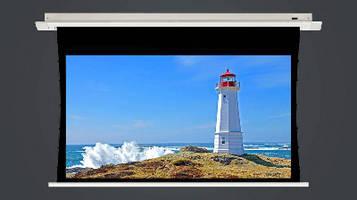In-Ceiling Motorized Projection Screen is 4K ready.