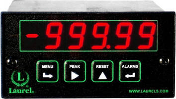 Process Meter offers Ethernet and Internet connectivity.