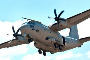 ATK and Alenia Aermacchi Successfully Complete Testing on Italian Air Force C-27J with Roll-On/Roll-Off Palletized Gun Systems