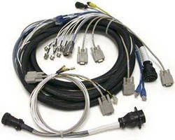 Custom Multiconductor Cable Harness for Industrial Laser Application